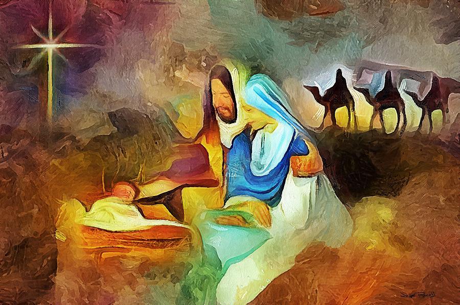 The Nativity by Wayne Pascall