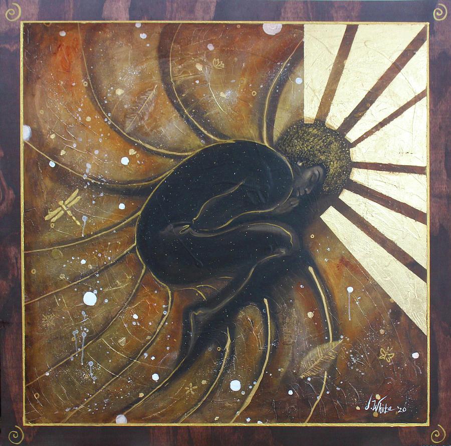 Nautilus Painting - The Nautilus by Jerome White