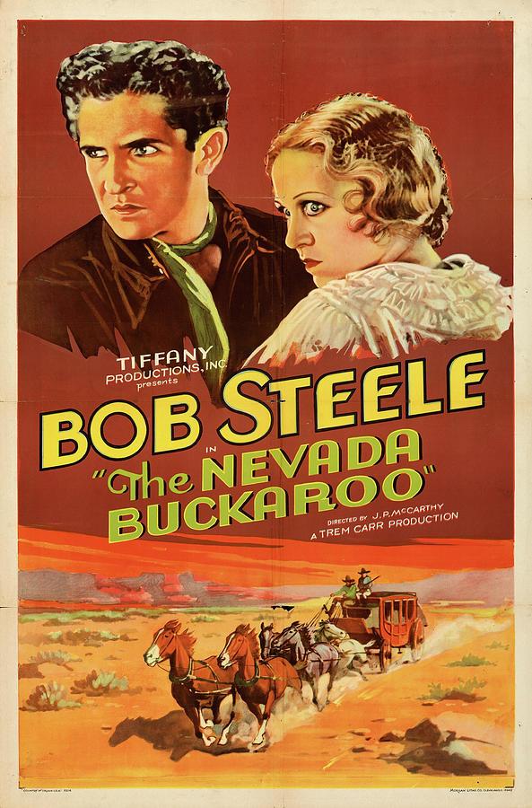 the Nevada Buckaroo Poster 1931 Mixed Media