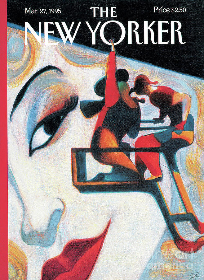 The New Yorker - March 27, 1995 Painting