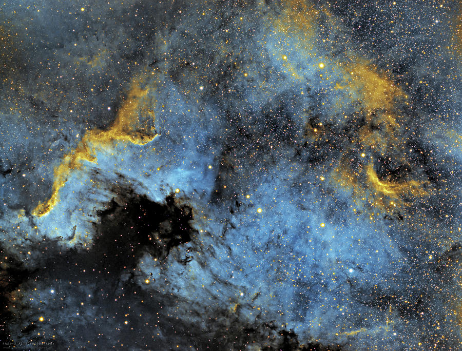Nebula Photograph - The North America Nebula by Prabhu Astrophotography