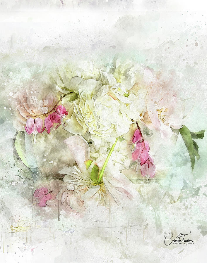 The Nosegay Bouquet Mixed Media