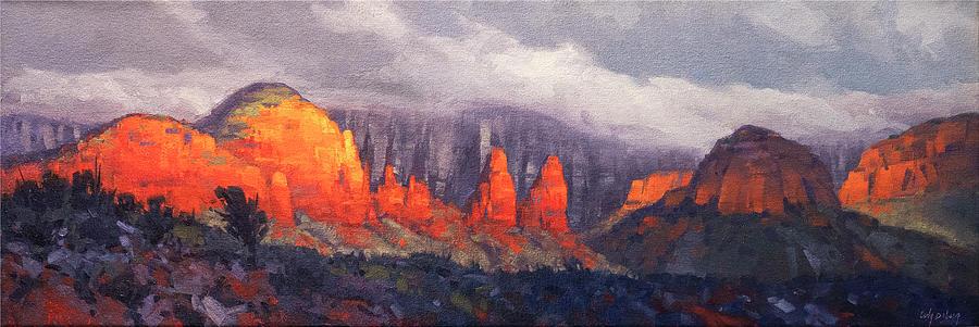 The Nuns, Sedona Painting
