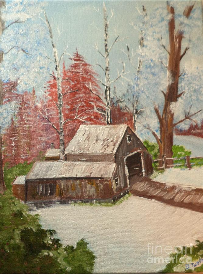 The Old Barn by Donald Northup