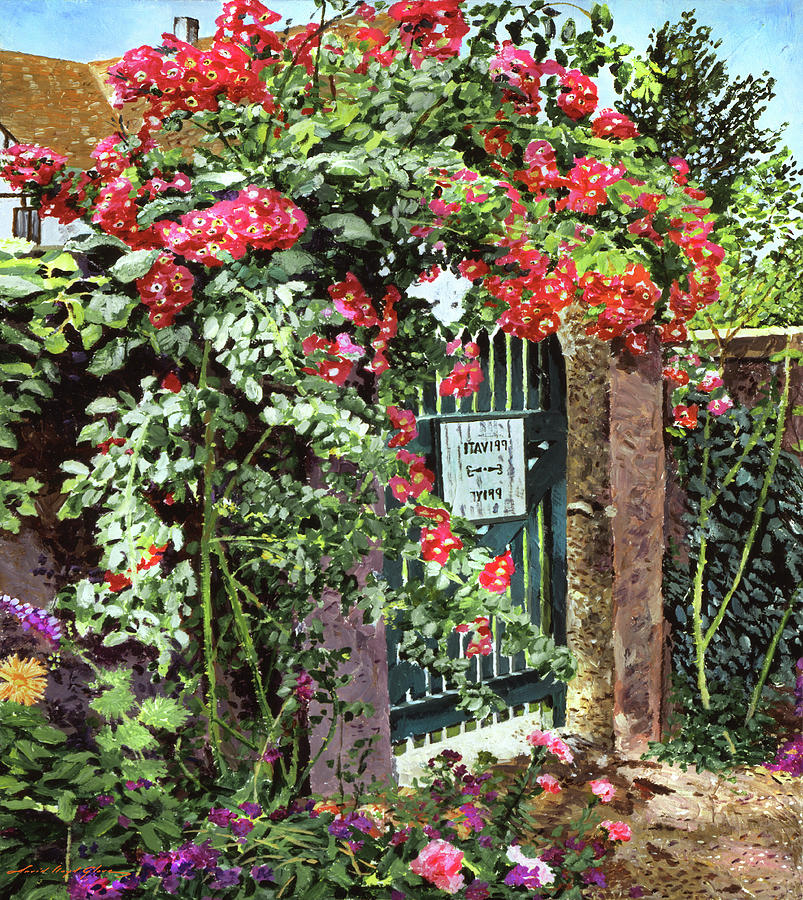 THE OLD GARDEN GATE by David Lloyd Glover
