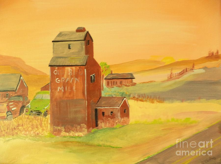 The Old Grain Mill by Donald Northup
