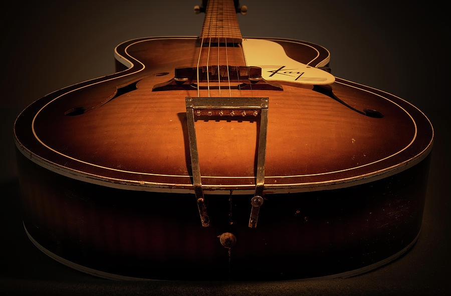 The Old Guitar Photograph