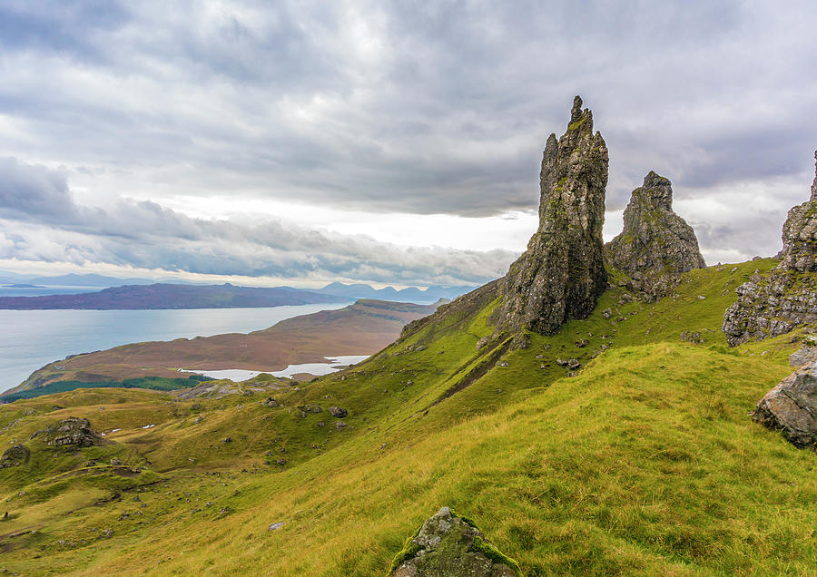 Highlands Photograph - The Old Man of Storr by Paul Cullen
