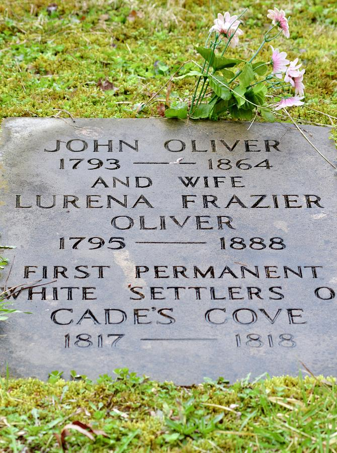 The Oliver Headstone Photograph