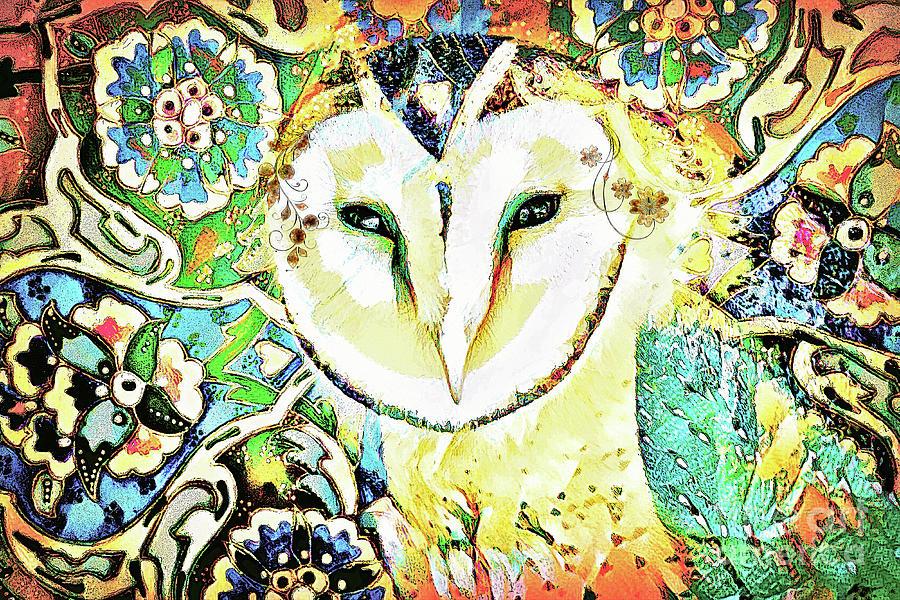 The Owl Queen Digital Art