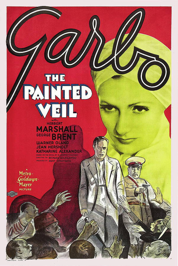 the Painted Veil 1934 Mixed Media