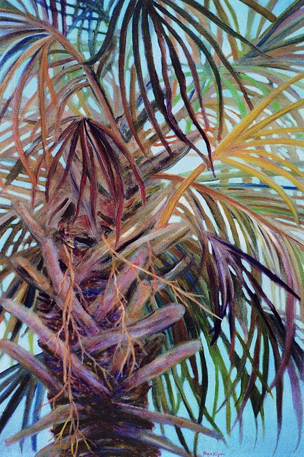 Palm Tree Painting - The Palm by Ben Kiger