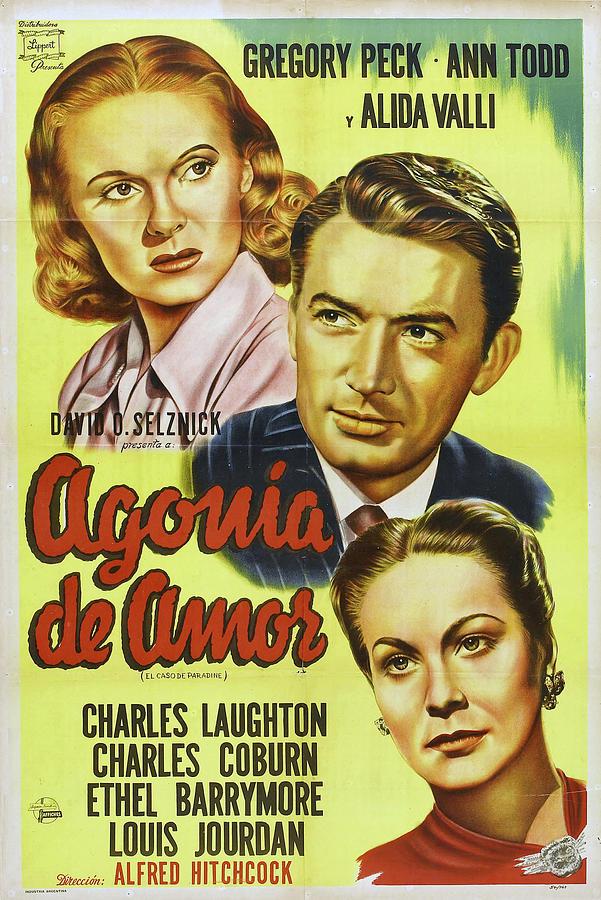 the Paradine Case - 1947 Mixed Media