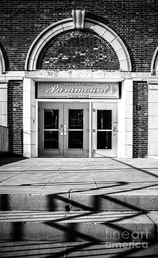 The Paramount Theatre in Black and White by Colleen Kammerer