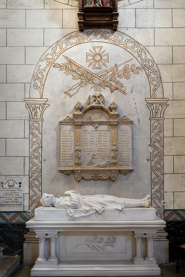 The parish of Sanguinet to his dead in World War I by RicardMN Photography
