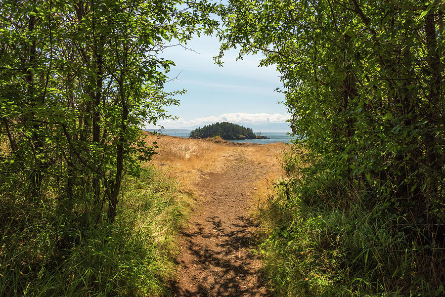 Deception Pass State Park Photograph - The Pathway by Kristopher Schoenleber