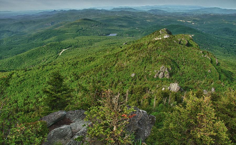 Blue Ridge Mountains Photograph - The Peak by Melissa Southern