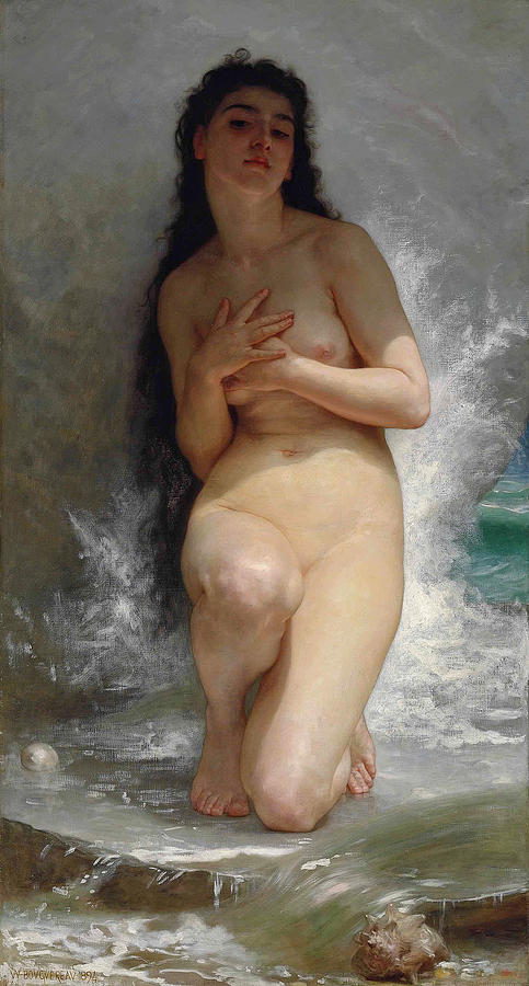 The Pearl by William-Adolphe Bouguereau