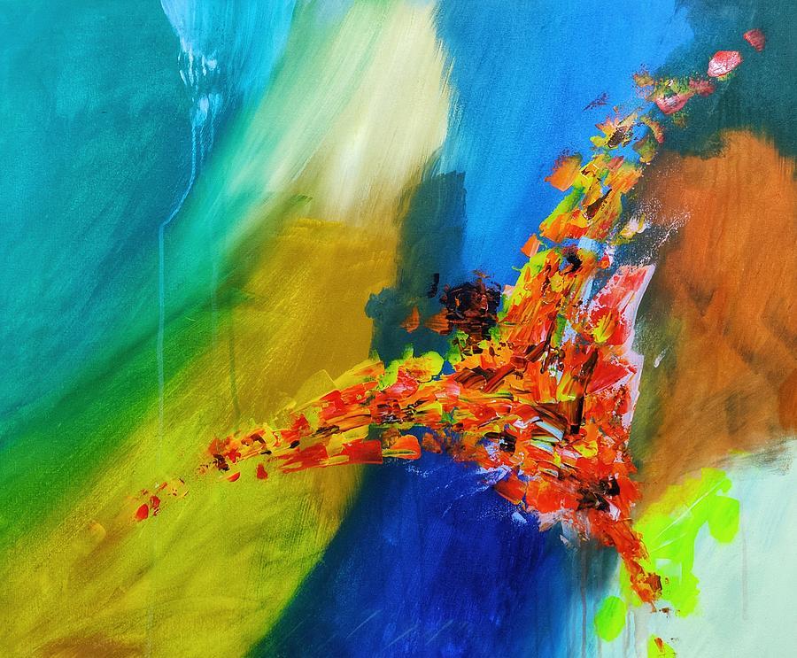 The Phoenix Rebirth Painting