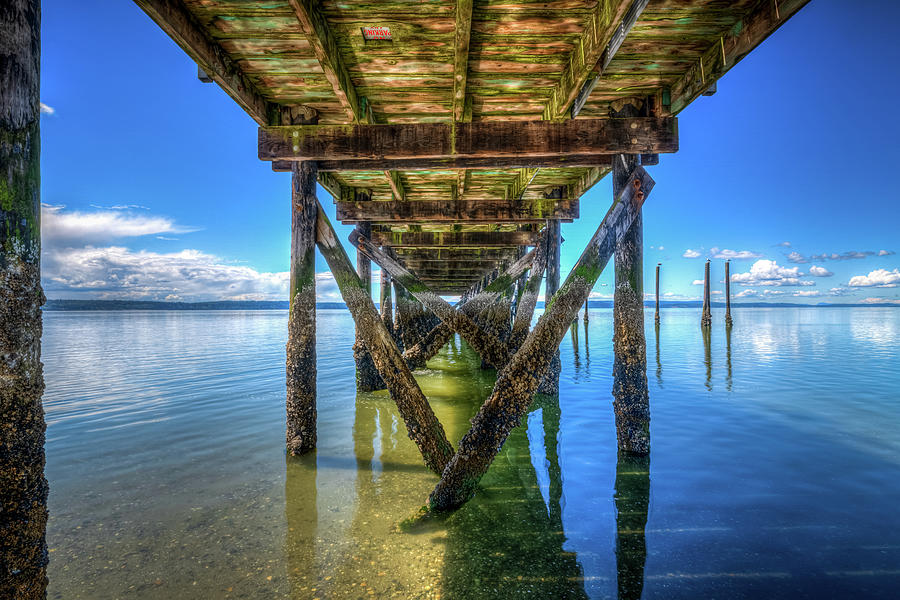 The Pier At Kayak Point L Photograph