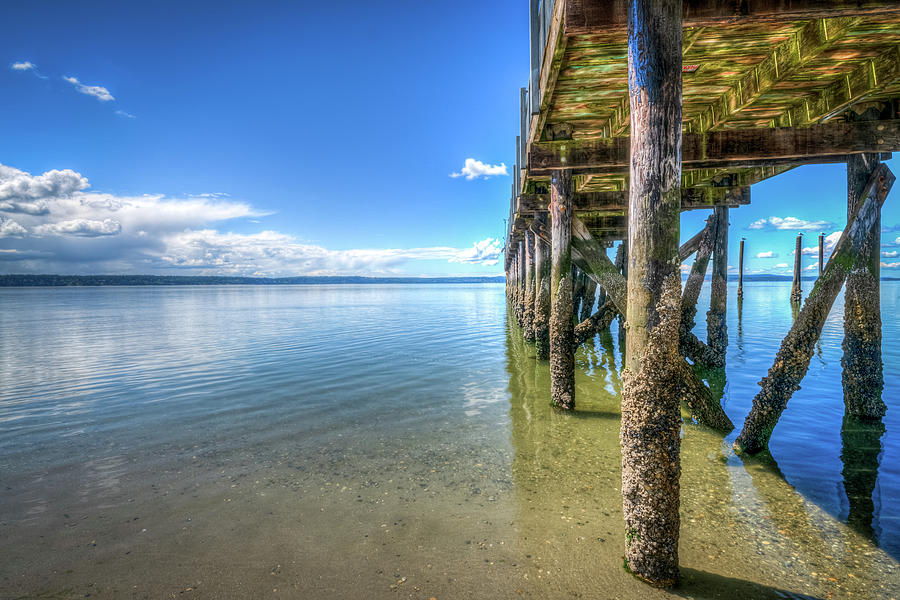 The Pier At Kayak Point Ll Photograph