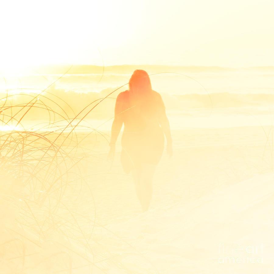 Shadow Photograph - The Pilgrim by Eddy Mann