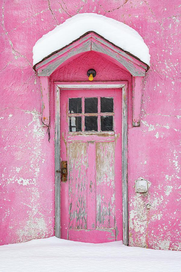 The Pink Door Photograph