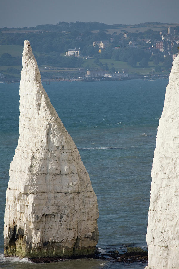 The Pinnacles at Old Harry Rocks, Jurassic Coast, Dorset, Englan by Ian Middleton