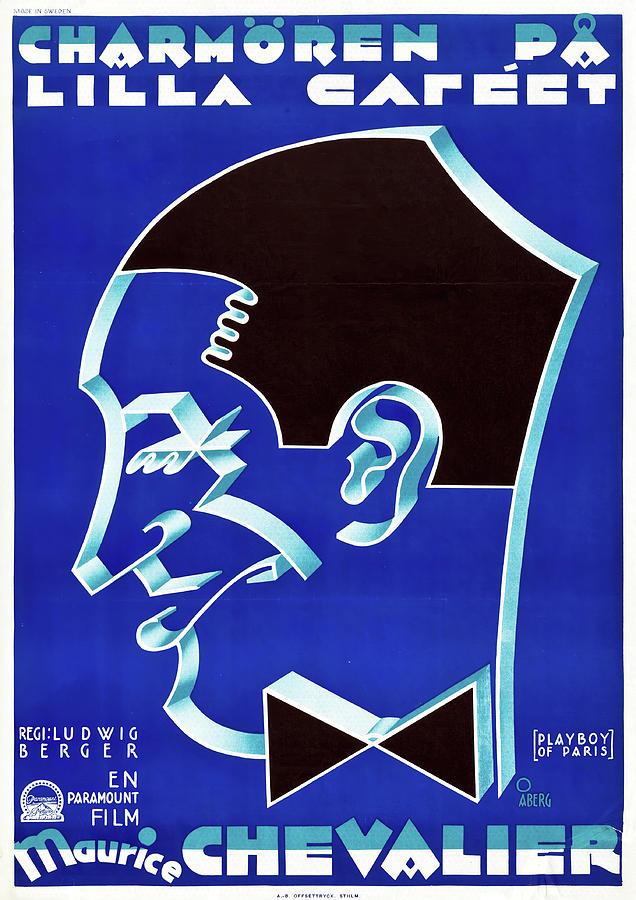the Playboy Of Paris, 1930 Mixed Media