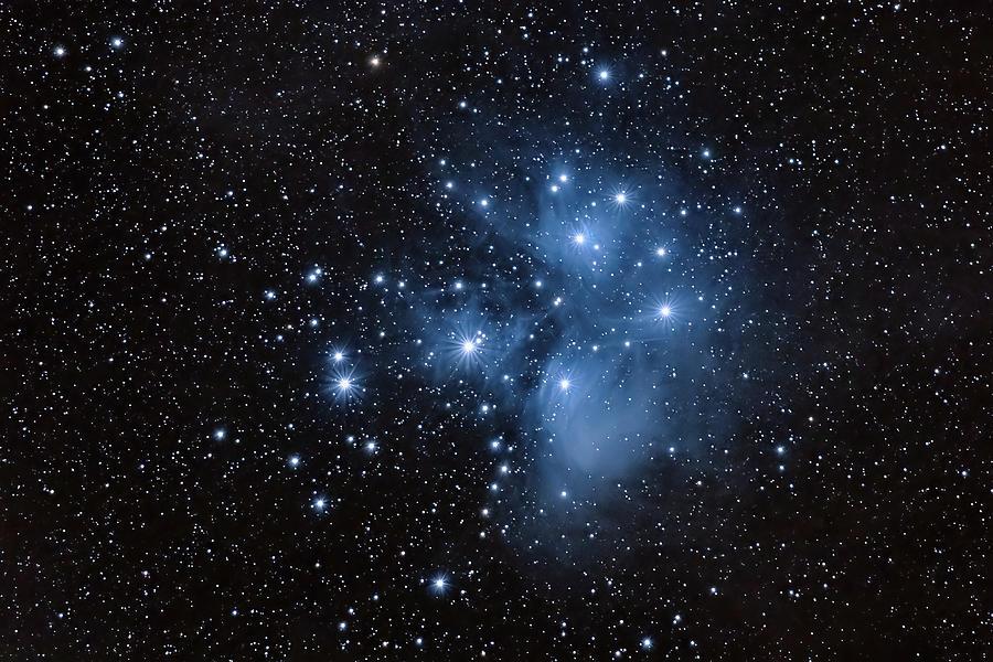 The Pleiades-m45 Photograph