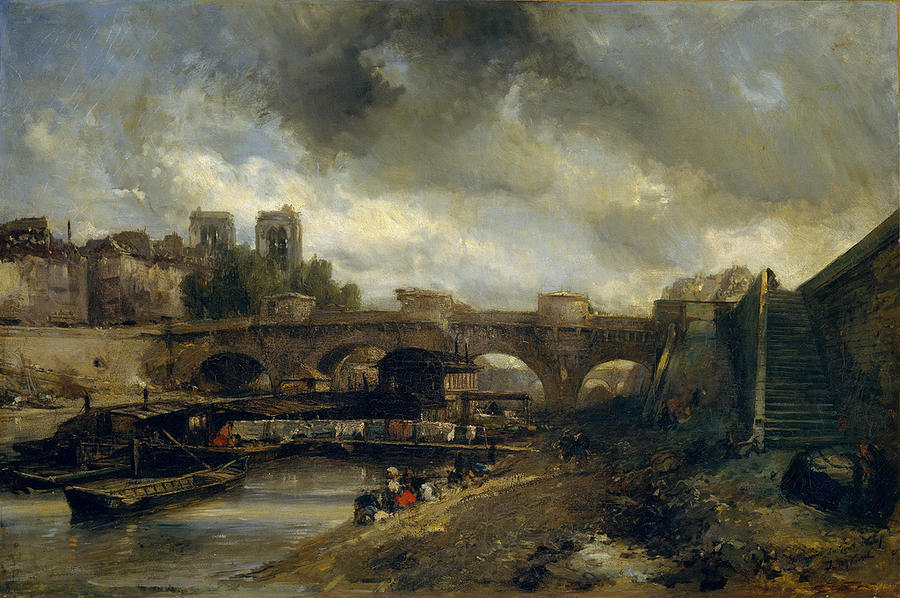 The Pont Neuf Painting