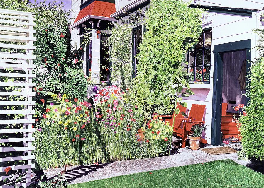 The Poppy Garden Painting