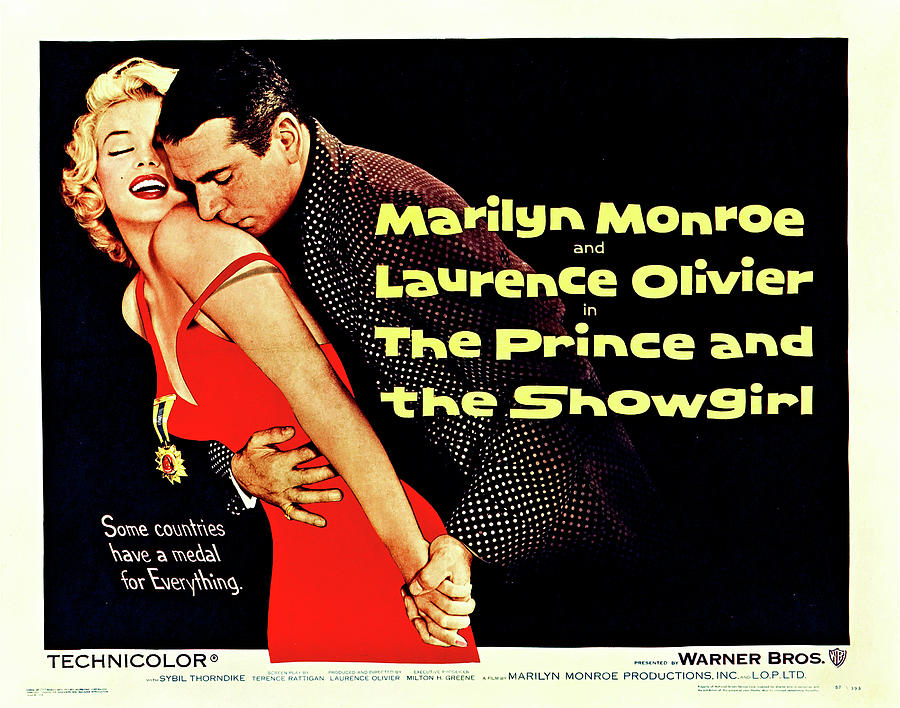 the Prince And The Showgirl Poster 1957 Mixed Media