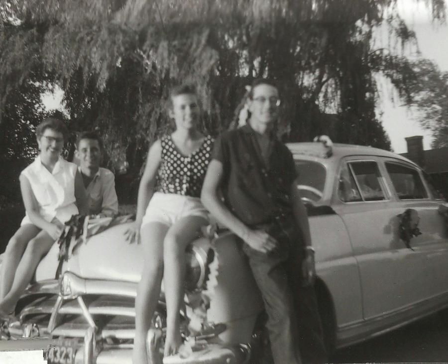 Buddy Holly Photograph - The Prom Car by John Bates