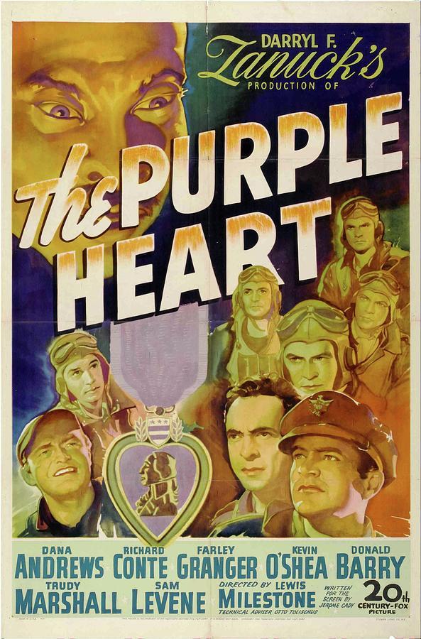 the Purple Heart, 1944 Mixed Media