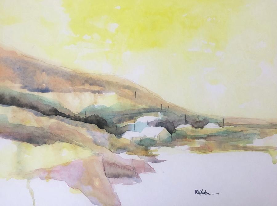 Ireland Painting - The Ramp  by Robert Yonke