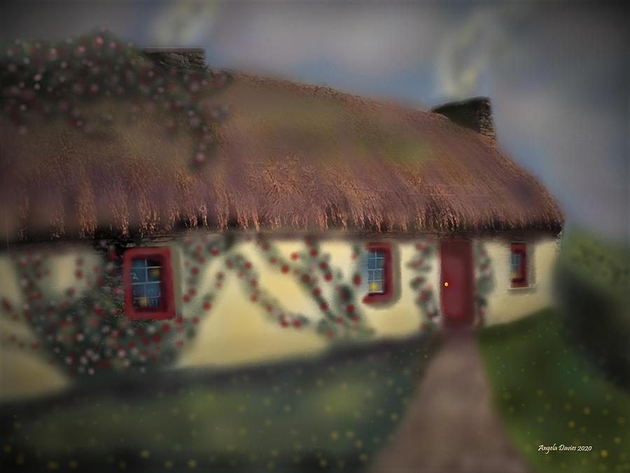 The Red Door by Angela Davies