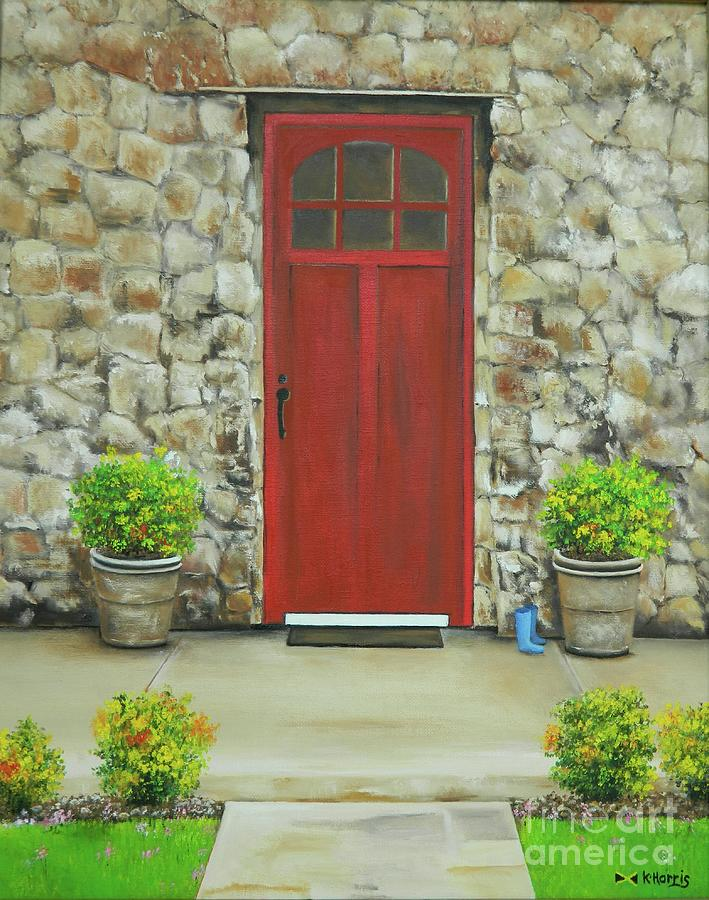 The Red Door by Kenneth Harris