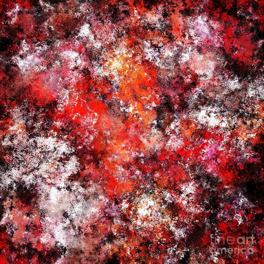 Bubbles Digital Art - The Red Sea Foam by Keith Mills