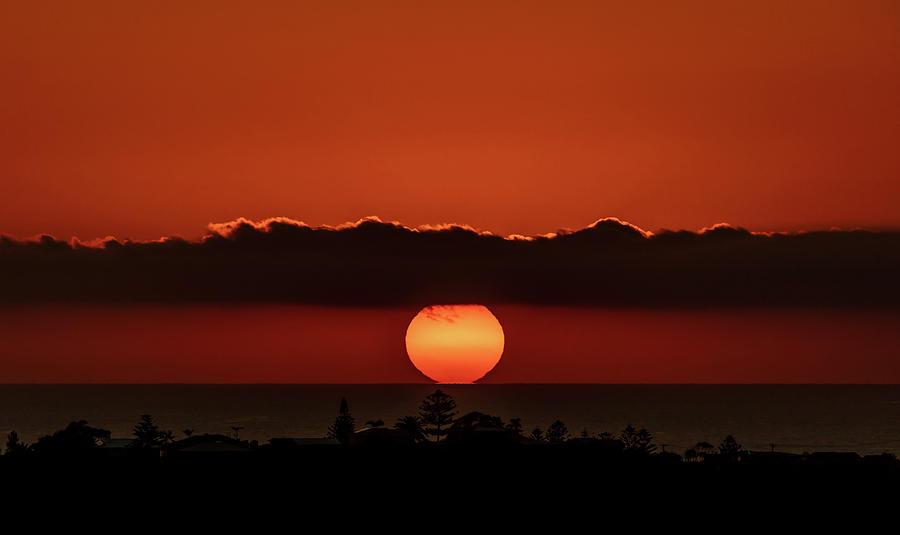 Australia Photograph - The Red Sun by Chris Cousins