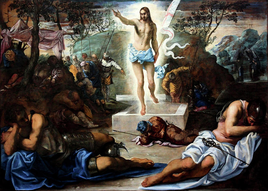 The Resurrection by Tintoretto