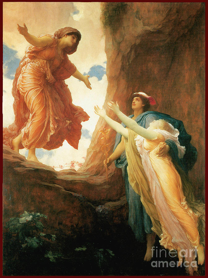 The Return Of Persephone 1891 Painting
