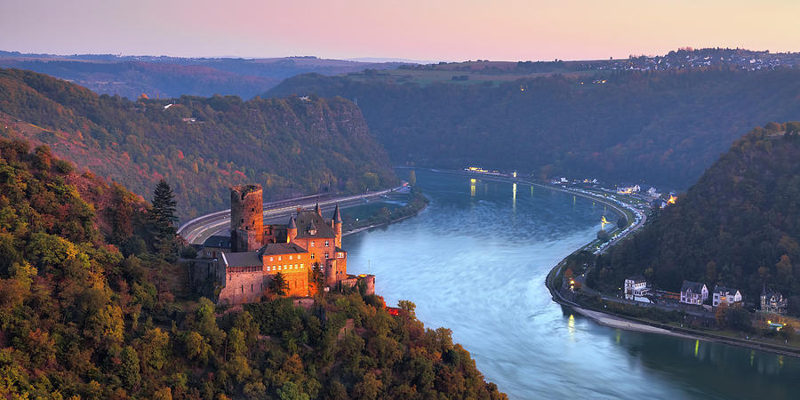 Loreley Photograph - The Rhine 03 by Tom Uhlenberg