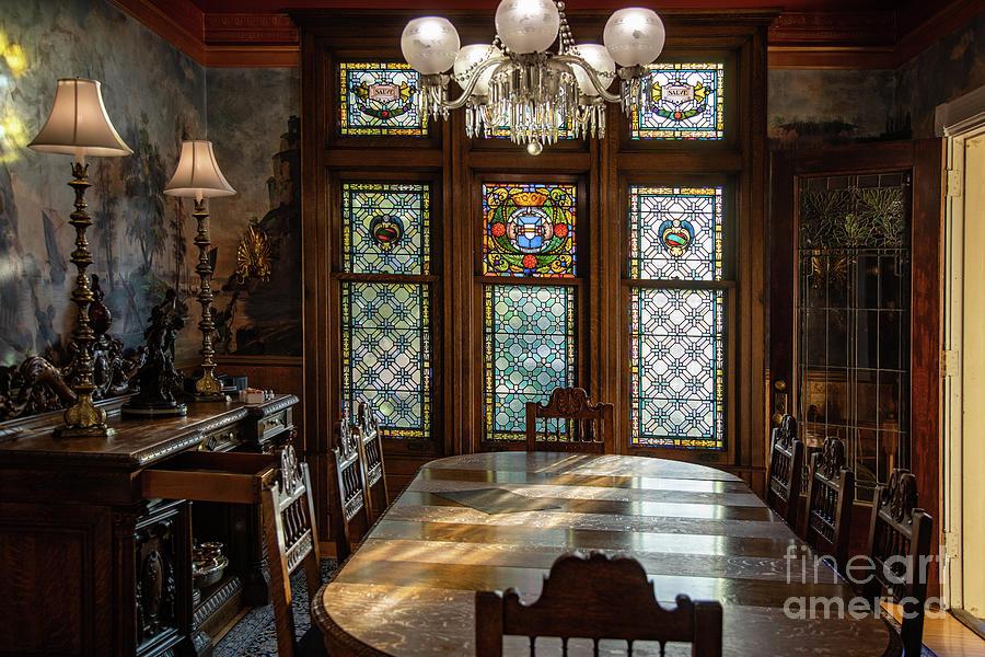 The Rivertown Inn Dinning Room Morning Light Stillwater Minnesota Photograph