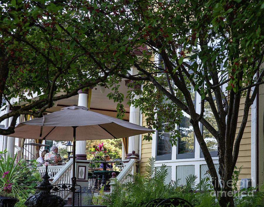The Rivertown Inn Gardens Stillwater Minnesota Photograph