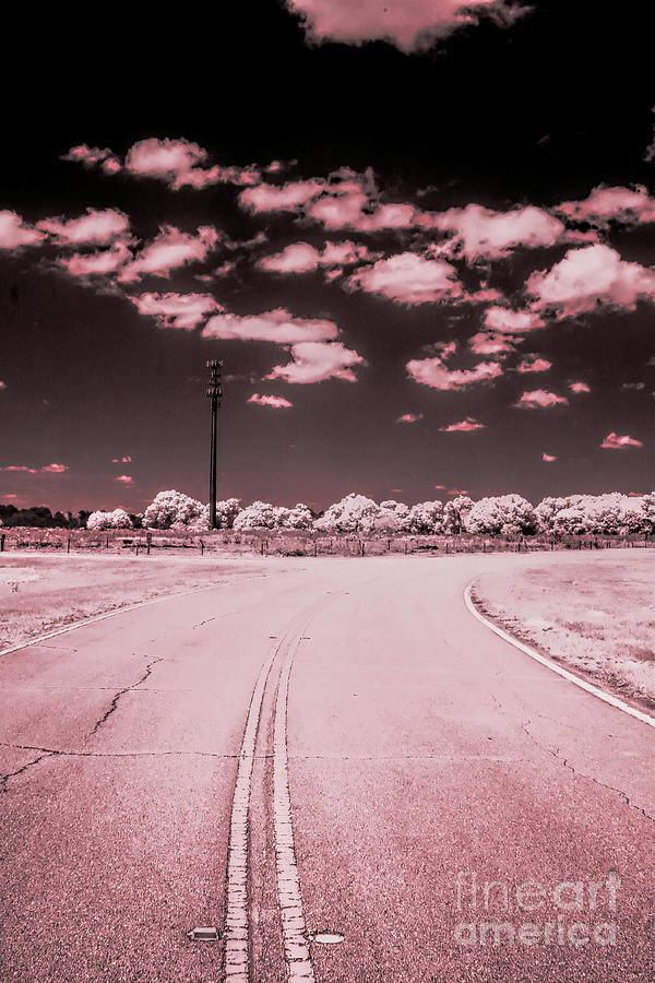The Road Photograph - The Road, Infrared Photography by Felix Lai