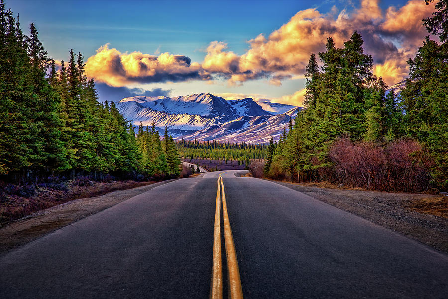 The Road To Alaska Photograph