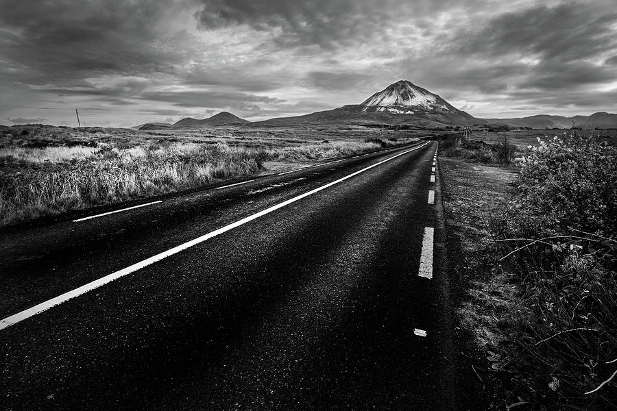 The Road To Errigal Photograph