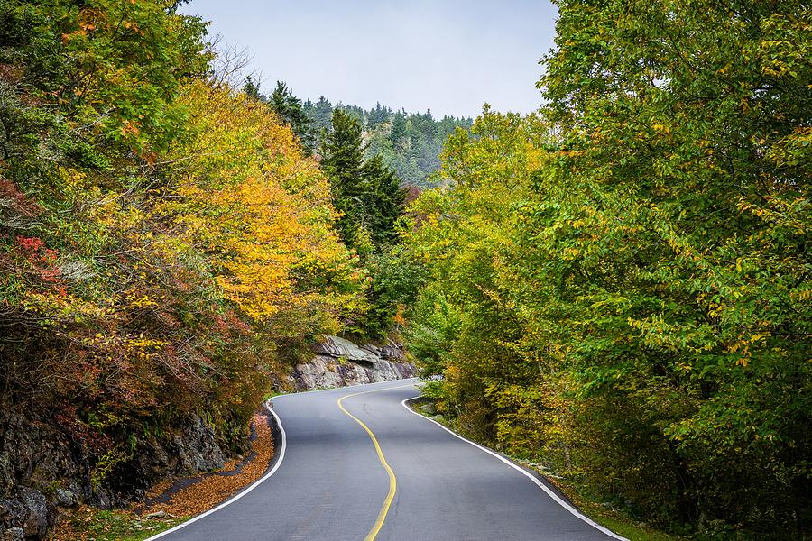 The Road To Grandfather Mountain Photograph