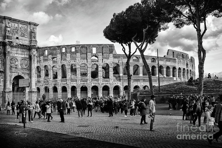 The Roman Colosseum by Rene Triay Photography